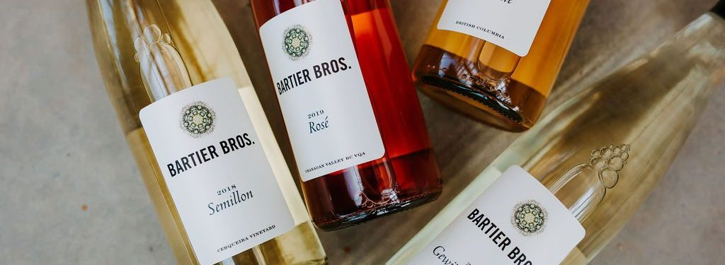 White and Rose Bottles